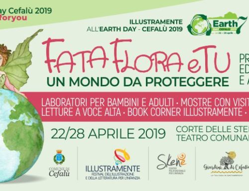 Illustramente e Skené all'EarthDay Cefalù 2019
